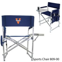 University of Virginia Embroidered Sports Chair Navy