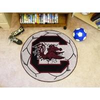 University of South Carolina Soccer Ball Rug