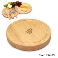 University of Wisconsin Engraved Circo Cutting Board Natural
