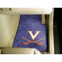 University of Virginia 2 Piece Front Car Mats