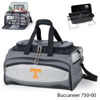Tennessee University Knoxville Embroidered Buccaneer Cooler Grey/Black