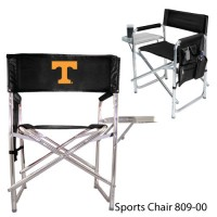 Tennessee University Knoxville Embroidered Sports Chair Black