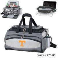 Tennessee University Knoxville Embroidered Vulcan BBQ grill Grey/Black