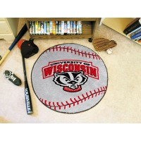 University of Wisconsin Baseball Rug