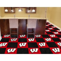 University of Wisconsin Carpet Tiles