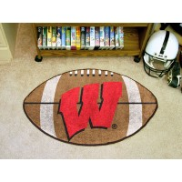 University of Wisconsin Football Rug