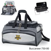 Vanderbilt University Embroidered Buccaneer Cooler Grey/Black