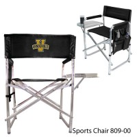 Vanderbilt University Printed Sports Chair Black