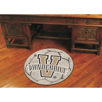 Vanderbilt University Soccer Ball Rug