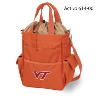 Virginia Tech Printed Activo Tote Orange