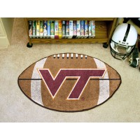 Virginia Tech Football Rug