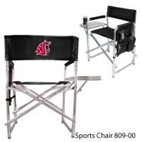 Washington State Printed Sports Chair Black