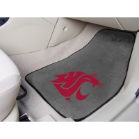 Washington State University 2 Piece Front Car Mats