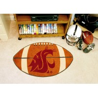 Washington State University Football Rug