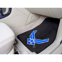 AIR FORCE 2 Piece Front Car Mats