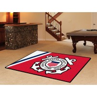 US Coast Guard  5 x 8 Rug