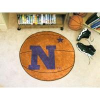US Naval Academy Basketball Rug