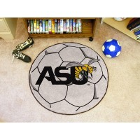 Alabama State University Soccer Ball Rug