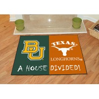 Baylor - Texas All-Star House Divided Rug