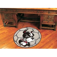 Boston University Soccer Ball Rug