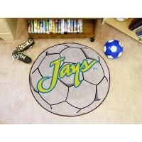 Creighton University Soccer Ball Rug