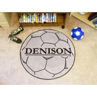 Denison University Soccer Ball Rug