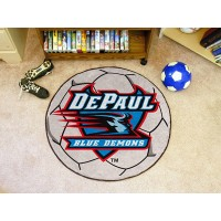 DePaul University Soccer Ball Rug