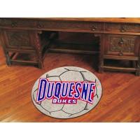 Duquesne University Soccer Ball Rug