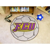 East Carolina University Soccer Ball Rug