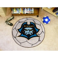 East Tennessee State University Soccer Ball Rug