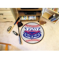Florida Atlantic University Baseball Rug