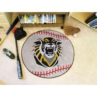 Fort Hays State University Baseball Rug
