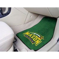George Mason University 2 Piece Front Car Mats