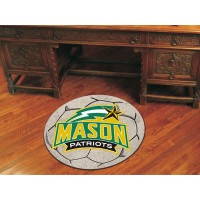 George Mason University Soccer Ball Rug