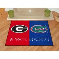 Georgia - Florida All-Star House Divided Rug