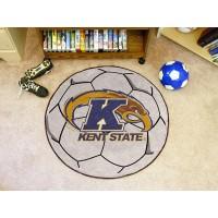 Kent State University Soccer Ball Rug
