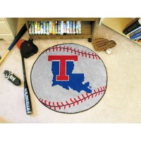 Louisiana Tech University Baseball Rug