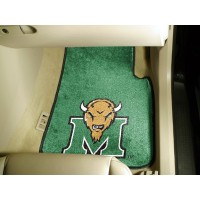 Marshall University 2 Piece Front Car Mats