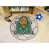 Marshall University Soccer Ball Rug