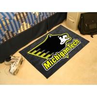 Michigan Tech Starter Rug