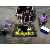 Michigan Tech Tailgater Rug