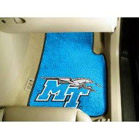 Middle Tennessee State University 2 Piece Front Car Mats
