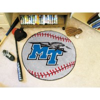 Middle Tennessee State University Baseball Rug