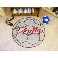 Mississippi Valley State University Soccer Ball Rug