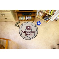 Missouri State Soccer Ball Rug