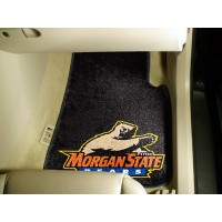 Morgan State University 2 Piece Front Car Mats