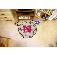 Nicholls State University Soccer Ball Rug