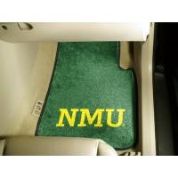 Northern Michigan University 2 Piece Front Car Mats