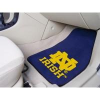 Notre Dame 2 Piece Front Car Mats