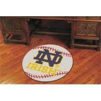 Notre Dame Baseball Rug